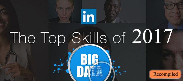 علوم داده و کلان داده، دومین مهارت برتر در سال ۲۰۱۷